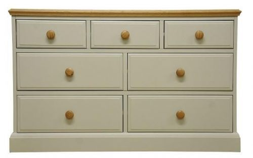 Derby 3 Over 4 Drawer Chest